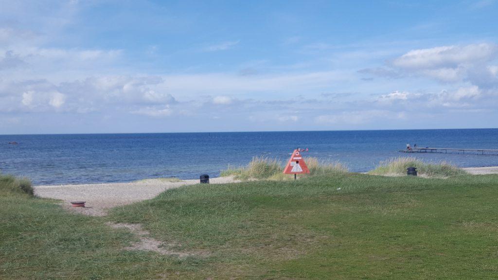 Ved stranden i Fjellerup