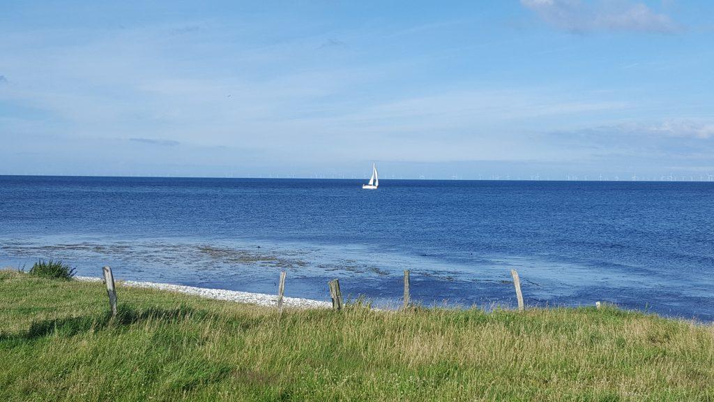 Udsigten fra Fornæs Fyr - Jyllands østligste punkt