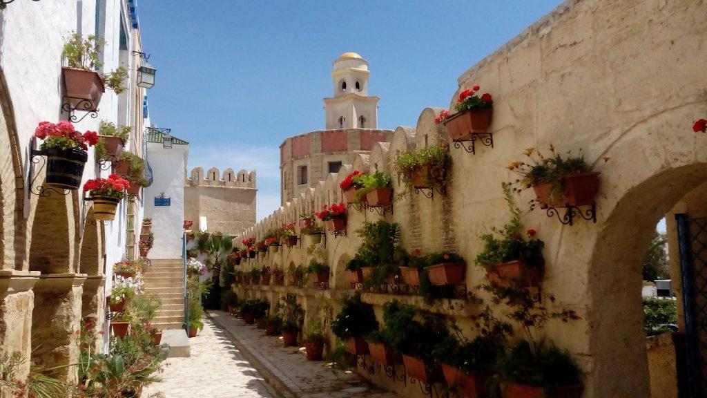 Medinaen i Hammammet