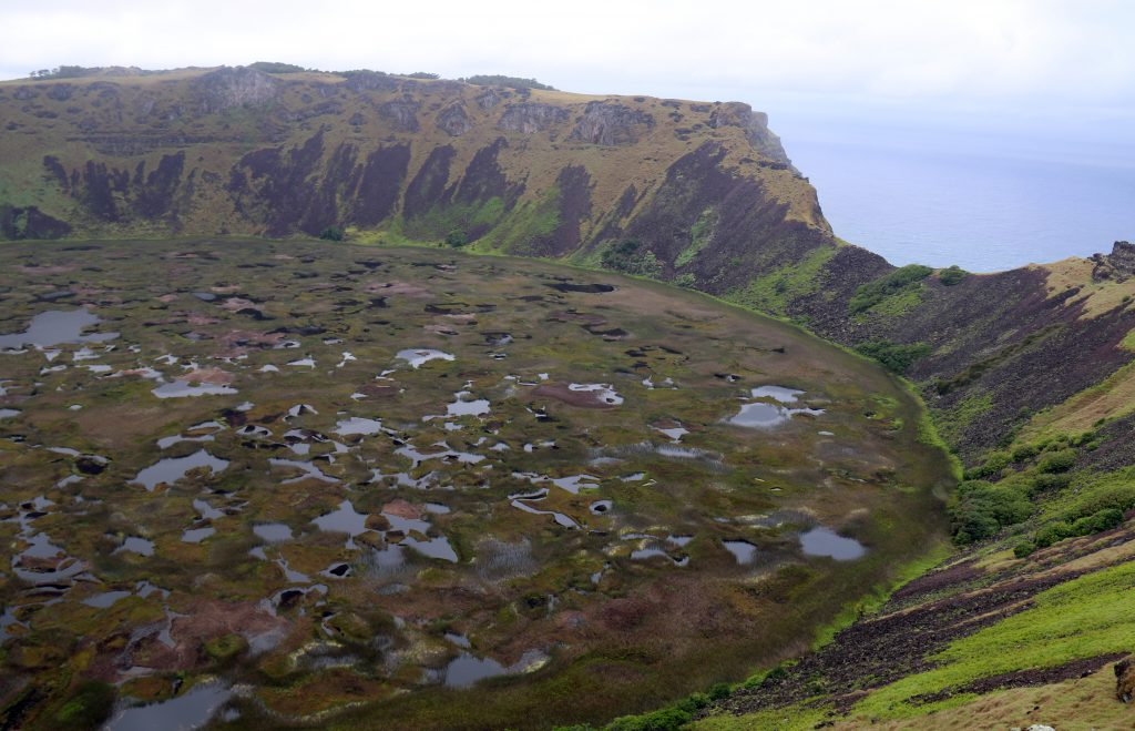Det magiske krater ved Orongo