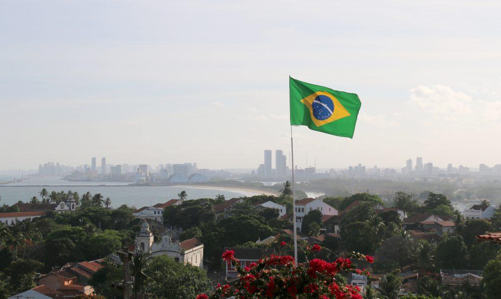 Recife set fra Olinda