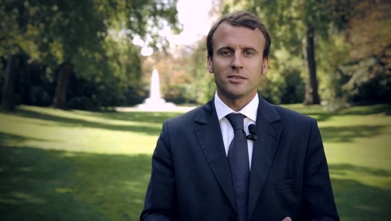 Macron - source: Creative Commons