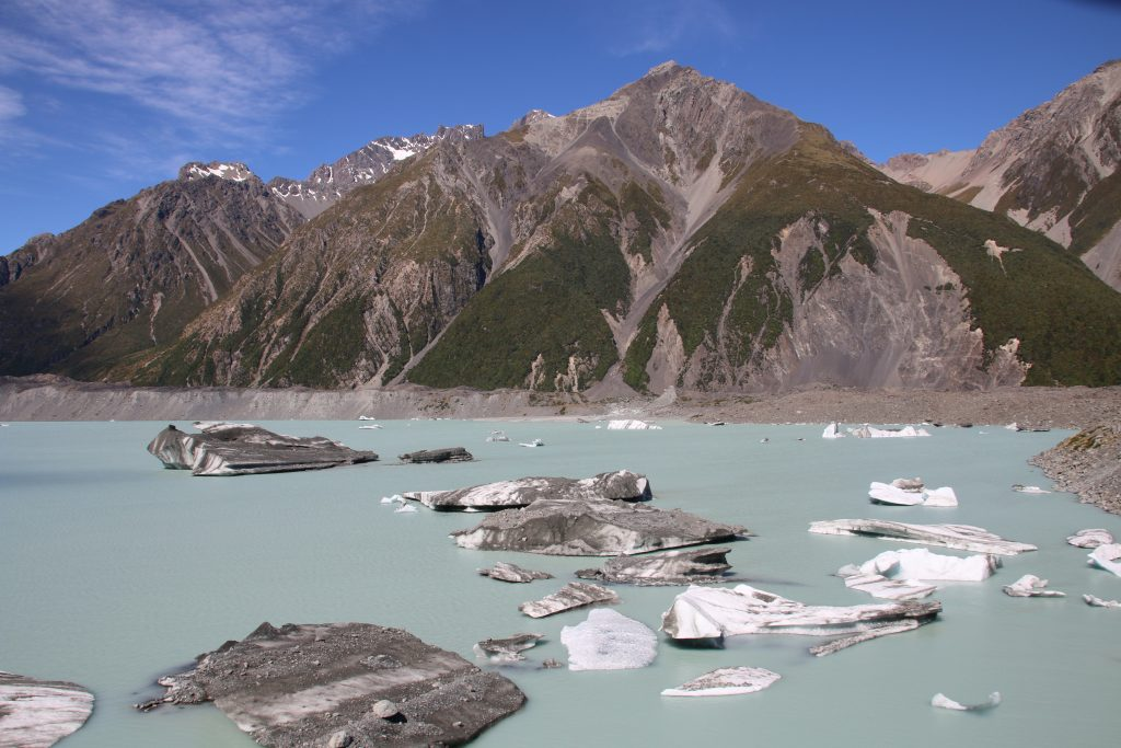 Gletschersø, Mt Cook