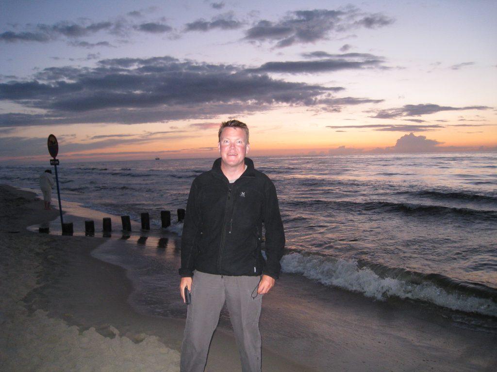 Første aften ved Østersøen