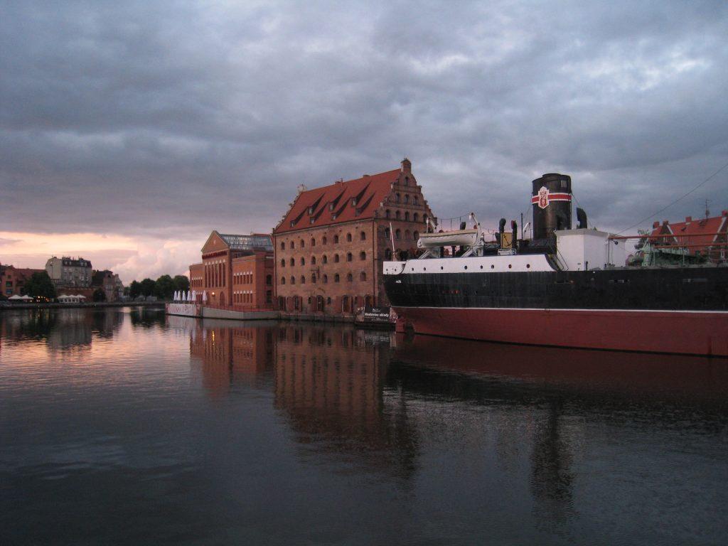 Langs kanalerne i Gdansk