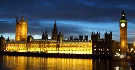 Londons berømte parlament