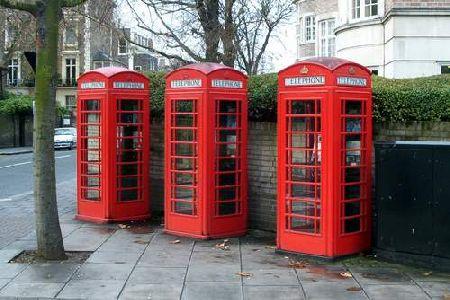 De klassiske telefonbokse