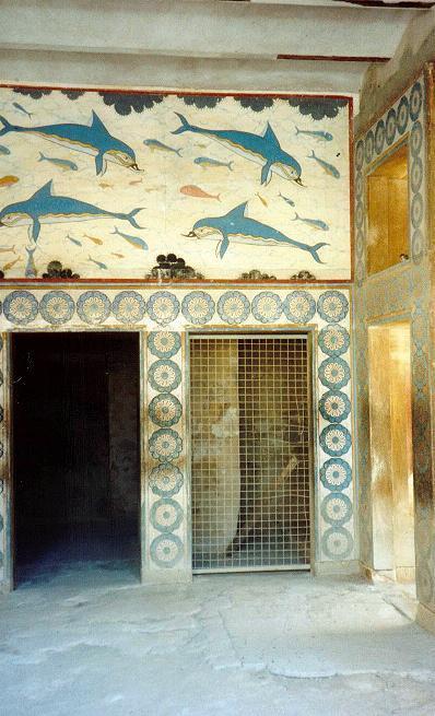 Dronningens værelse på Knossos