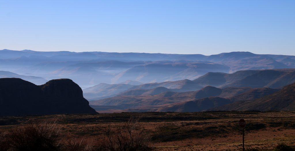 Men flot er der i Lesothos bjerge