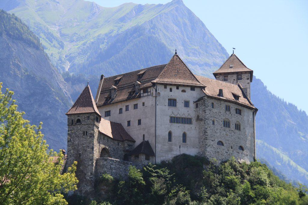 Liechtenstein - fyrstens palads