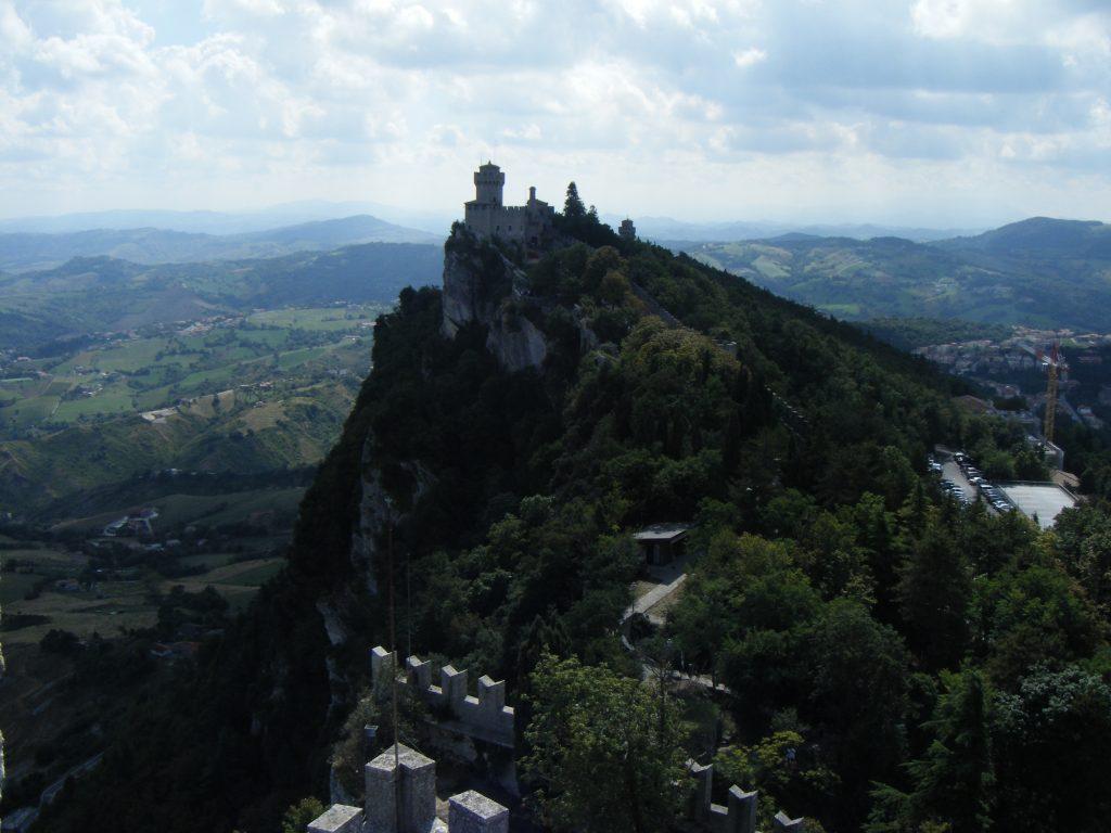 På toppen af San Marino