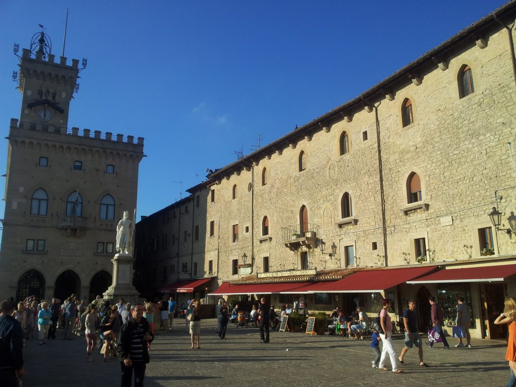 San Marino - Piazza Liberta